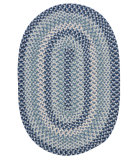 RugStudio presents Colonial Mills Boston Common Bc53 Capeside Blue Braided Area Rug